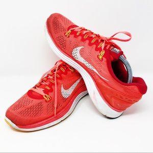 Nike Women's 10.5 Lunarglide 5 Pink Athletic Shoe